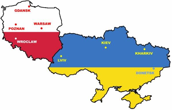 Mapa PL-UK
